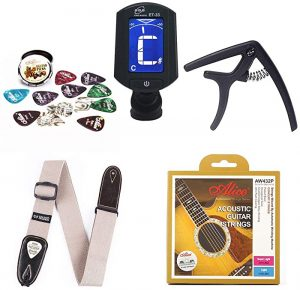 must-have acoustic guitar accessories for beginners