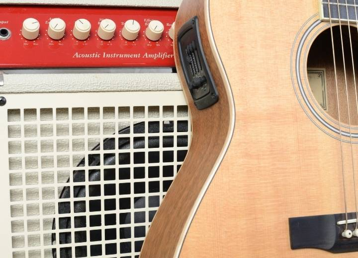 Electro acoustic guitar is a traditional acoustic with additional equipment of an electric guitar