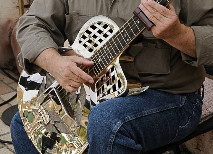 What is a resonator guitar