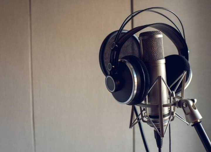 What should you consider when choosing headphones for studio recording