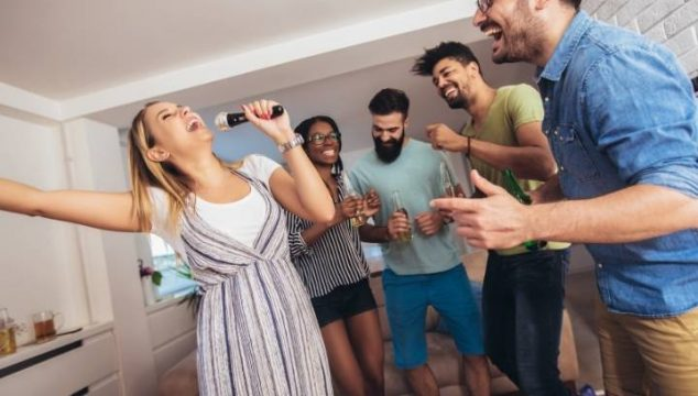how to have a karaoke party without a karaoke machine