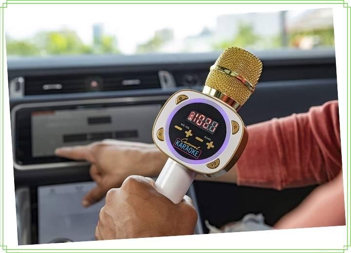carpool karaoke wireless dynamic microphone
